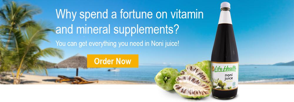 100% organic noni juice